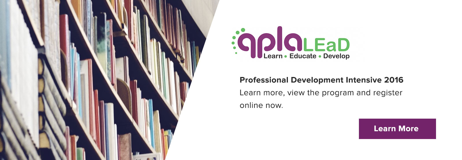 QPLA PD Intensive 2016